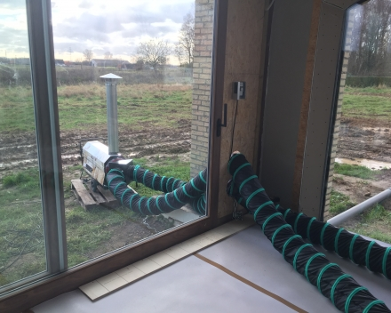 Nieuwbouw verwarmen